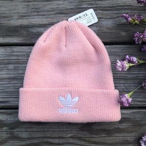 Adidas Knit Trefoil Icey Pink Beanie
